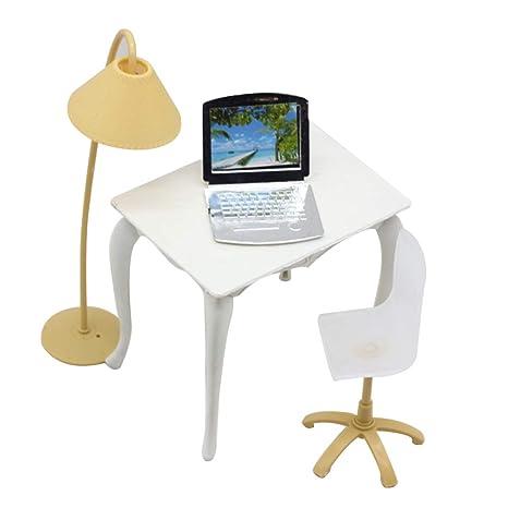 Originaltree - Lámpara de Escritorio para Ordenador portátil, Accesorios de Muebles para casa de muñecas