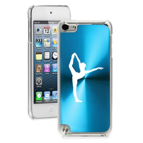 Apple iPod Touch 5th Generation Light Blue 5B132 hard back case cover Dancer Gymnastics