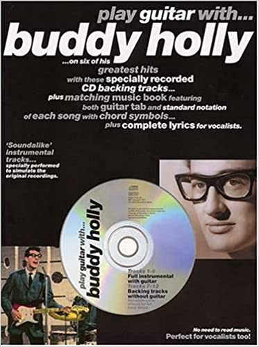 Play Guitar with Buddy Holly-Guitar Tab-Music book with Cd backing ...