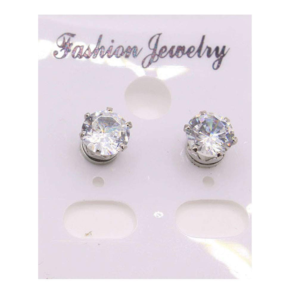 Toponly Jewelry Sets Fashion Popular Sleek Minimalist Diamond Rhinestone Bracelet Earrings Stud by Toponly (Image #5)