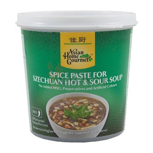 Asian Home Gourmet - Szechuan pikant/sauere Suppenpaste - 350g