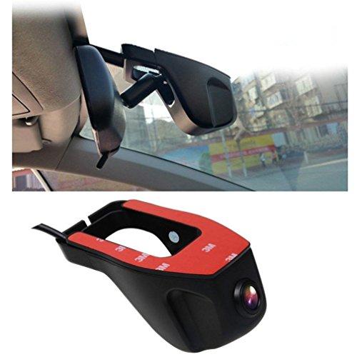 Price comparison product image Driving Recorder, Tuscom HD 1080P Hidden Wifi Car DVR Vehicle Camera Video Recorder Dash Cam Night Vision