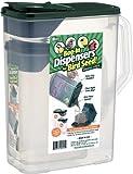 Buddeez 8 and 4-Quart Double-Pack Bird Seed Dispensing Set, My Pet Supplies