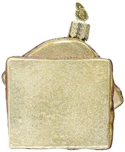 Old World Christmas Peanut Butter & Jelly Sandwich Glass Blown Ornament (Christmas Peanuts Pics)