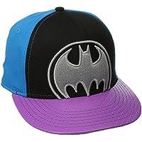 DC Comics Men's Batman Flat Brim Hat