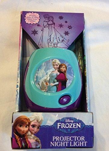 Disney Frozen Anna & Elsa Proyector Luz Nocturna - Luces Estrellas ...