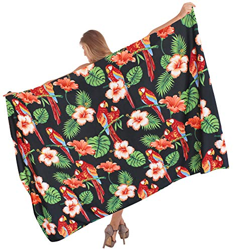 l171 Baño Pareo Traje Para Del Trajes Piscina La De Mujer Resortwear Encubrimiento Abrigo Falda Negro x6BfwZqF