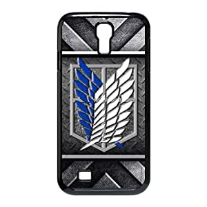 Fashion Attack on Titan Hard Shell Snap-on Slim Cover Case for Samsung Galaxy S4 i9500