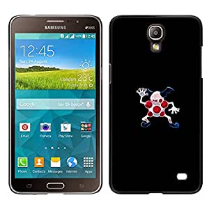 A-type Arte & diseño plástico duro Fundas Cover Cubre Hard Case Cover para Samsung Galaxy Mega 2 (Meter Monster puntos rojos)