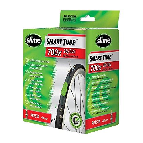 Slime Smart Tube Presta - Cámara de aire rellena (700x, 28-32 mm, con tecnología selladora) 40FC.30062