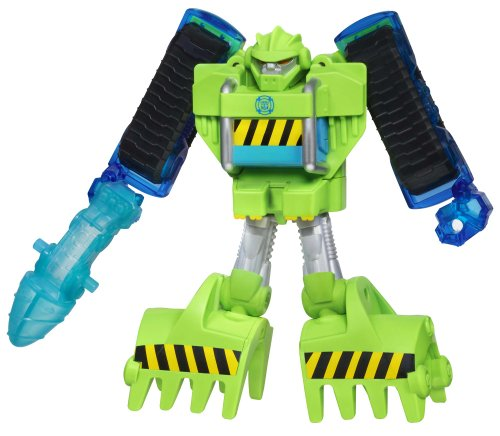 Playskool Heroes Transformers Rescue Bots Boulder the Construction-Bot Figure image