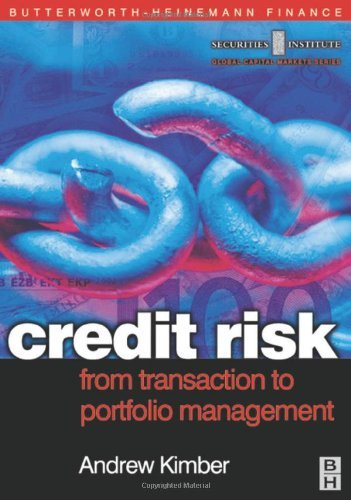 Credit Risk: From Transaction to Portfolio Management: From Transaction to Portfolio Management (Securities Institute Global Capital Markets) Pdf
