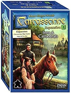 Carcassonne: Inns and Cathedrals: Amazon.es: Juguetes y juegos