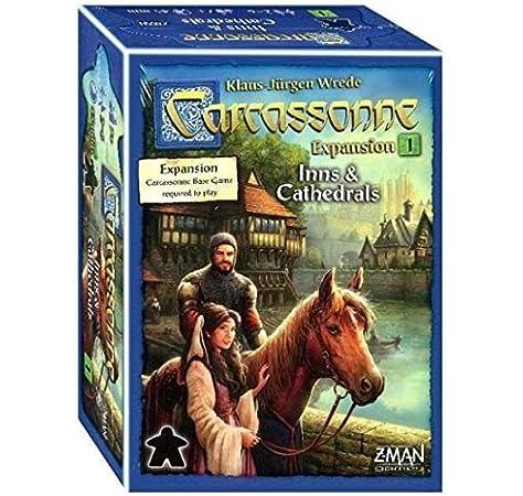 Carcassonne: Inns and Cathedrals: Amazon.es: Juguetes y juegos