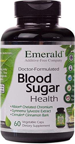 Emerald Laboratories - Blood Sugar Health - with Gymnema Sylvestre & Cinnamon Bark - 60 Vegetable Capsules