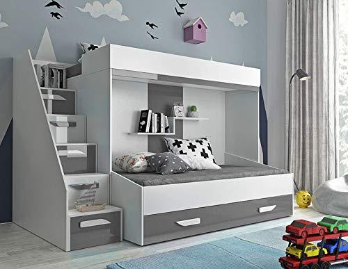 Etagenbett Heaven : Furnistad etagenbett für kinder alfa doppelstockbett mit