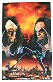 Testament by Fire litho with Gowron & Martok Star Trek Deep Space Nine Poster 11 x 17 inches DS9 by Keith Paul