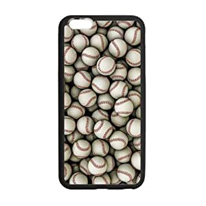 Canting_Good Baseball Custom Case Shell Skin for iPhone6 Plus 5.5 (Laser Technology)
