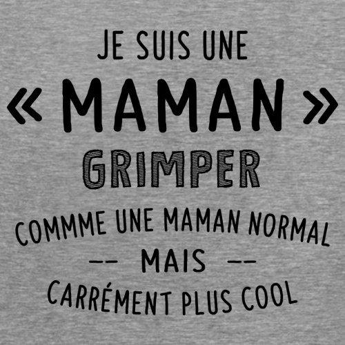 une maman normal grimper - Femme T-Shirt - Gris - L