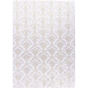 Nova Noblesse mit Top-Pr/ägung /& Perlmuttlack 5 Bogen Premium-Transparentpapiere braun, Design 08 DIN A4