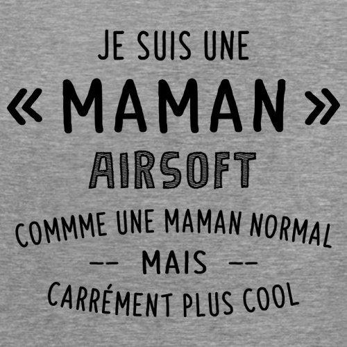 une maman normal airsoft - Femme T-Shirt - Gris - XL