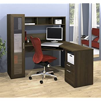 Amazon Com Jazz Collection Modern Corner Computer Desk