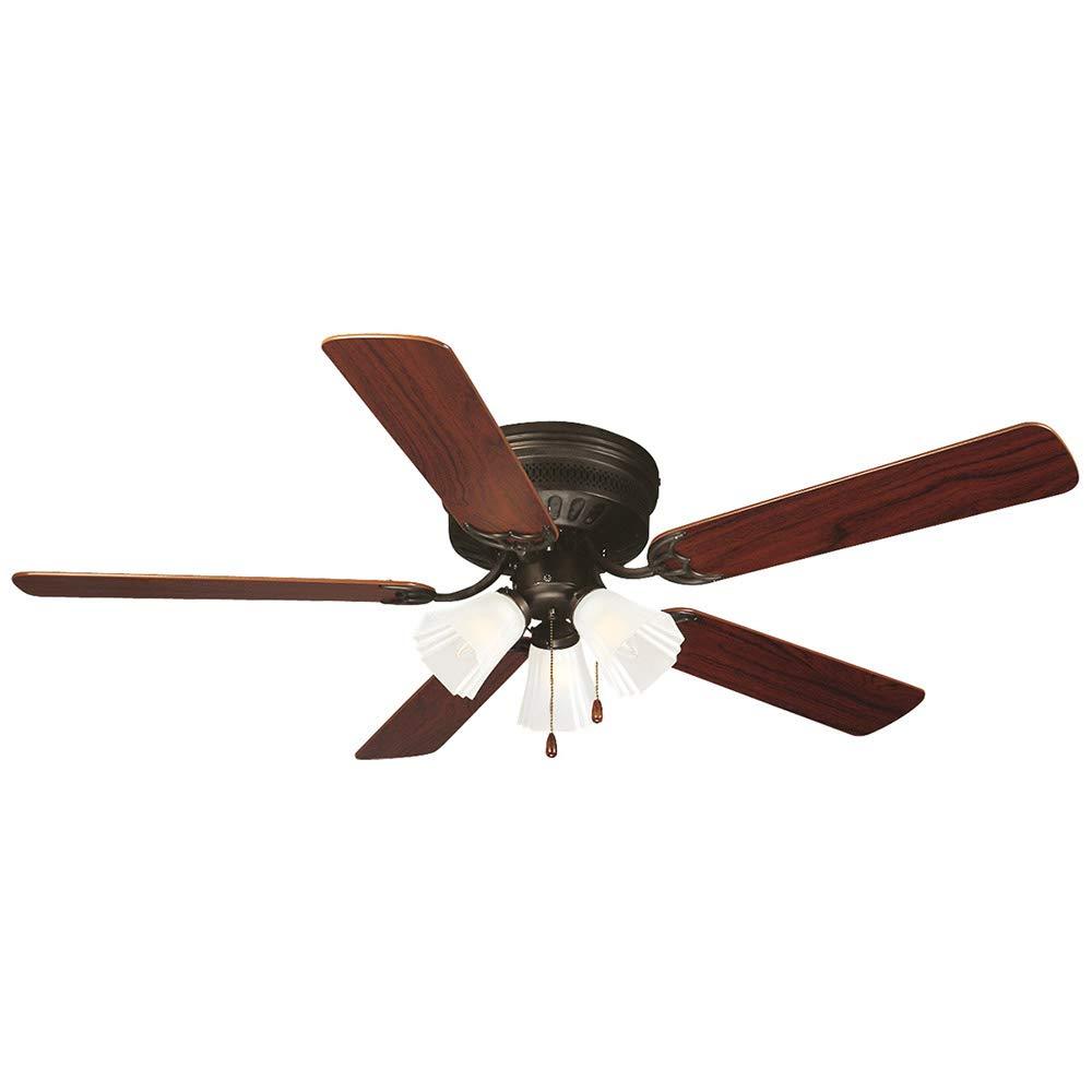 "Design House 153411 Millbridge 3 Light Ceiling Fan 52"", Oil Rubbed Bronze -  Hunter Ceiling - Amazon.com"