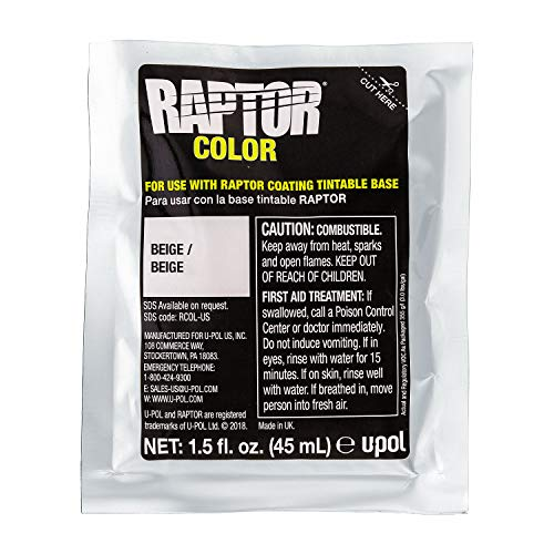 U-Pol Raptor Color Tint Pouches Green