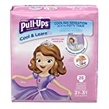 Health & Personal Care : Pull-Ups Cool & Learn Potty Training Pants for Girls, 2T-3T (18-34 lb.), 25 Ct. (Packaging May Vary)