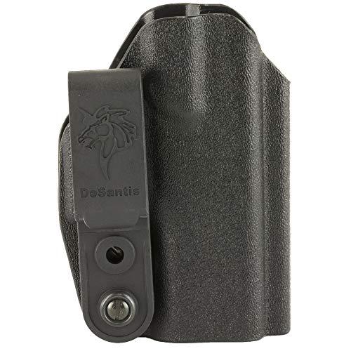 Desantis Slim-Tuk Inside Fits Glock 43 Ambidextrous Kydex Pants Holster, Black