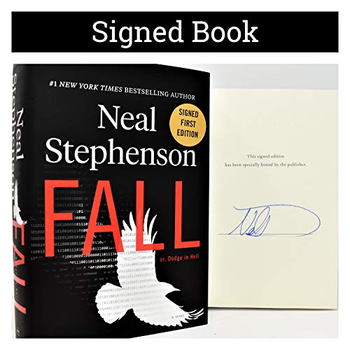 Fall; or, Dodge in Hell AUTOGRAPHED by Neal Stephenson SIGNED BOOK COA