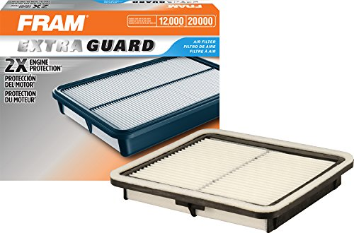 FRAM CA9997 Extra Guard Rigid Rectangular Panel Air Filter (Best Automotive Air Filter)