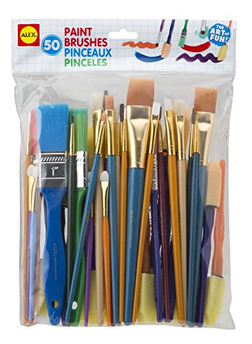 ALEX Toys Art Paintbrush Brushes