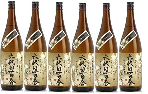 六代目百合 35度×6本 塩田酒造 鹿児島 甑島 芋焼酎 B07K813P6Y