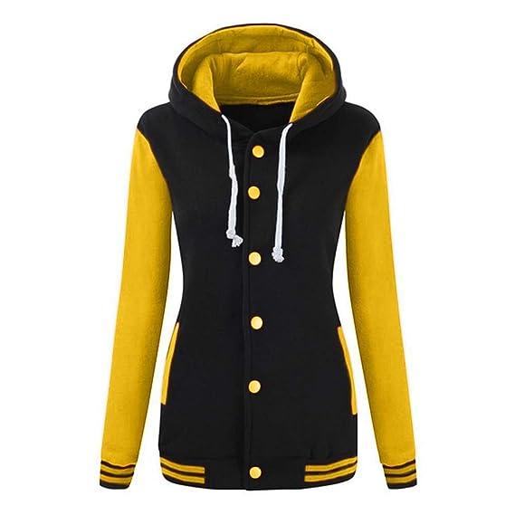 Sweatshirt Mantel Hoodie Sport Xl Ciciyoner Winter Herbst Jacke Kapuzen Baseball Damen Warm Hoody Langarm S Pullover NwOnk0X8ZP