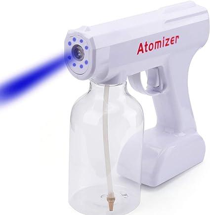 Blue Light  800ML Wireless Charging Nano Atomization Disinfection Spray