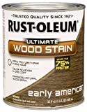 Rust-Oleum 260146 Ultimate Wood Stain, Quart, Early American by Rust-Oleum