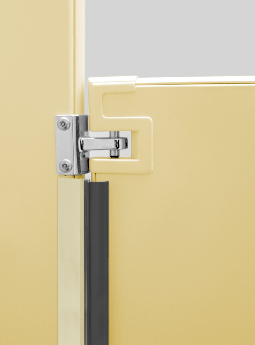 Door privacy for Bathroom stall privacy strip