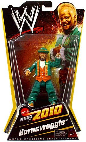 Action WWE Wrestling Exclusive Best of 2010 Figure Hornswoggle -