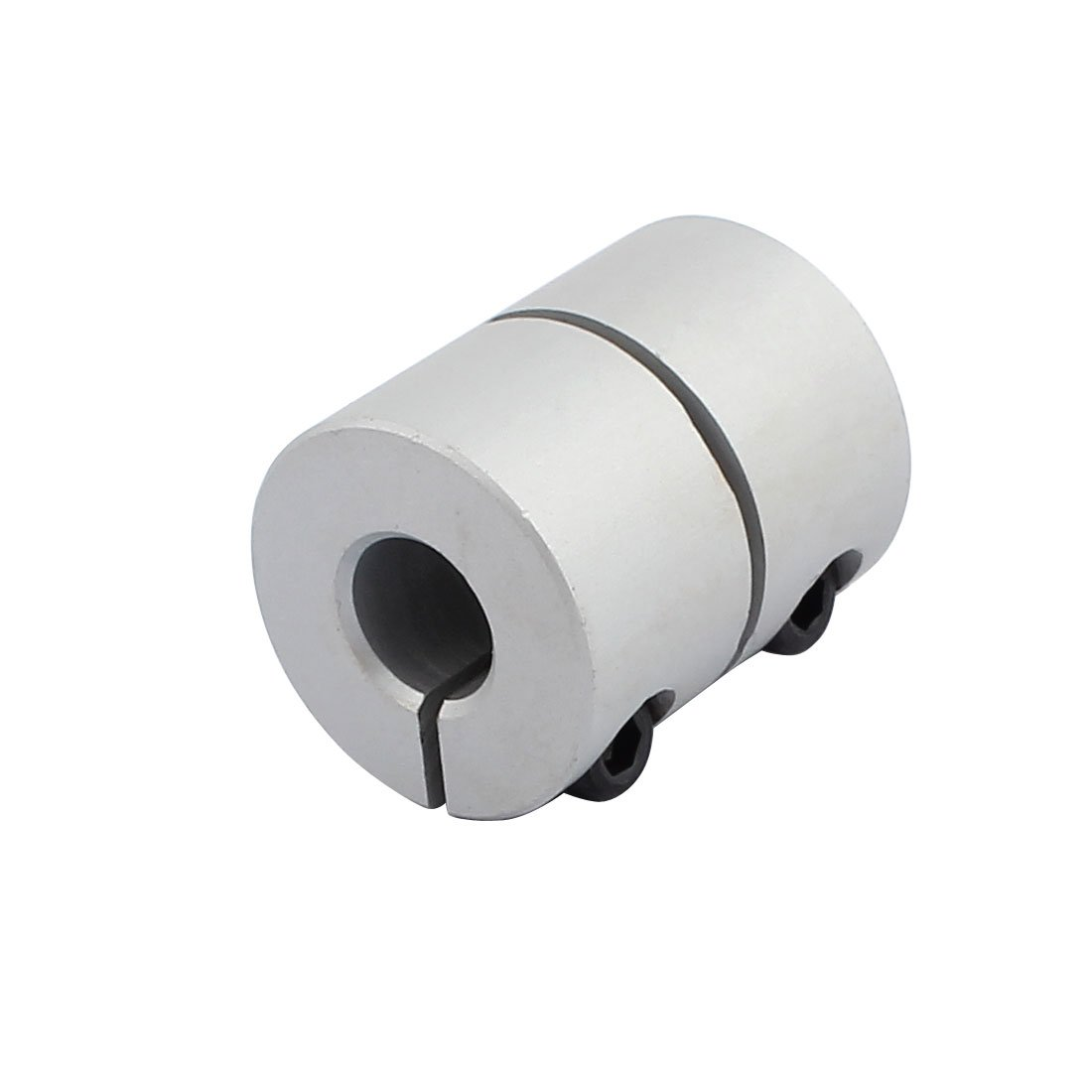 uxcell 8mm to 8mm Shaft Coupling 40mm Length 25mm Diameter Coupler Aluminum Alloy Joint Motor for 3D Printer CNC Machine DIY Encoder