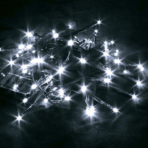 Sapin de Noel guirlande pour sapin de noel : Letpower Blanc 6mètres 60 leds Guirlande led lampe ampoule ...