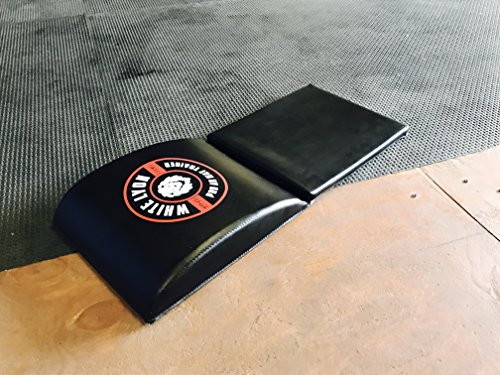 White Lyon Sports Premium Quality Ab Exercise Mat Pad With Tailbone Protector By Abdominal Trainer Mat Pad For Sit Ups – Lightweight & Comfortable – Perfect For Crossfit, Gym Trainers & Health Peeps by White Lyon Sports
