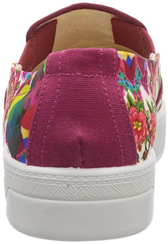 Sneaker Abril Rosso 3037 Donna rot Desigual Shoes Basse 8Pw7zx
