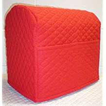 Quilted KitchenAid Artisan Mini 3.5-Qt Tilt-Head Mixer Cover (Red)