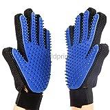 Pet Grooming Glove Addprime Gentle Deshedding Brush Glove -...