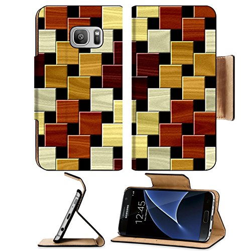 Luxlady Premium Samsung Galaxy S7 Flip Pu Leather Wallet Case IMAGE ID: 34813452 Wood floor pattern seamless generated hires texture - Mahogany Wall Hardwood Flooring