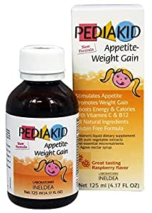 Amazon.com: Pediakid Appetite-Weight Gain, a Natural Appetite and Weight Gain Stimulant for