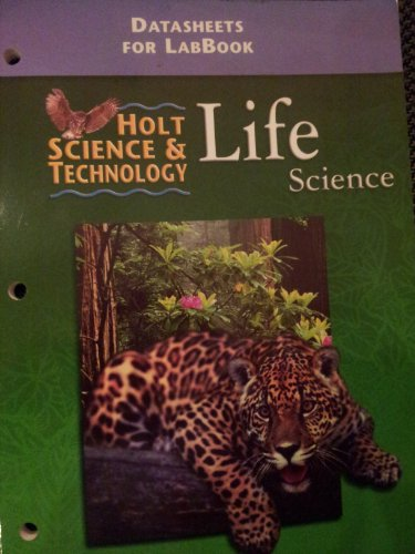 Datasheets for LabBook - Holt Science and Technology: Life Science