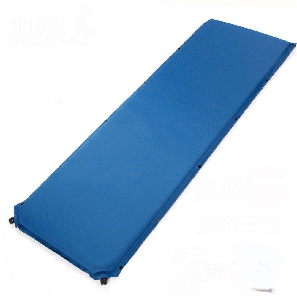 Eine MONEYY Moisture-Proof Moisture-Proof Moisture-Proof Pad Automatische aufblasbares Kissen Breite dicke Luft Bett Single Isomatte Zelt, Camping 190  60  5 Cm B07C89CWXB Picknickdecken Bekannt für seine schöne Qualität 3cc6d9