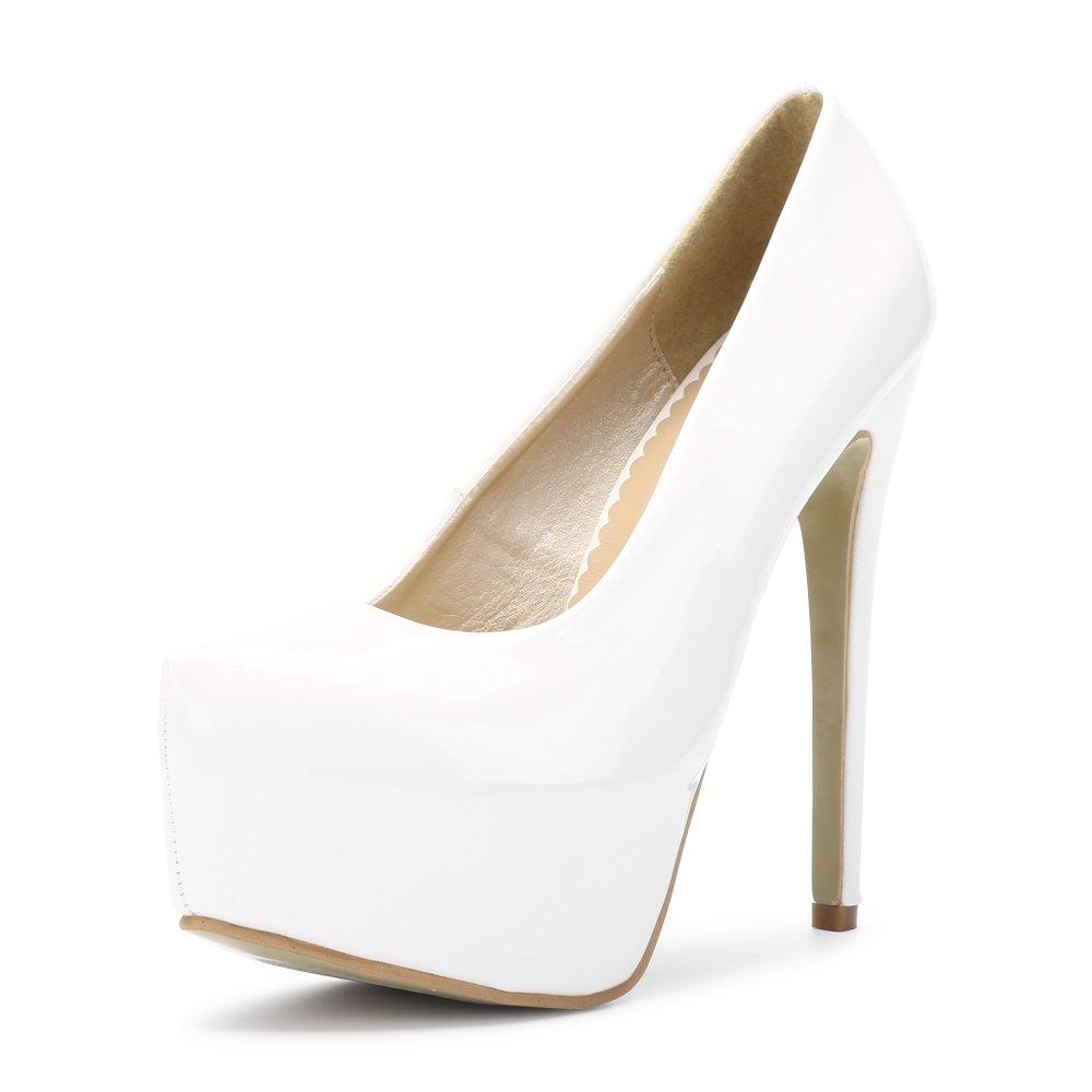 4a99238c9 Amazon.com | OCHENTA Womens Hidden Platform Stiletto Heels Pump Club Shoes  | Pumps